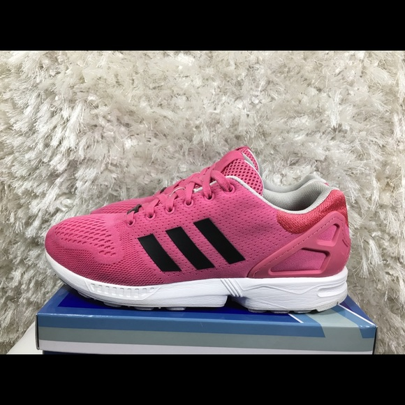 b17286731bd5 Adidas Zx Flux Torcion Wave Pink Athletic Size 12
